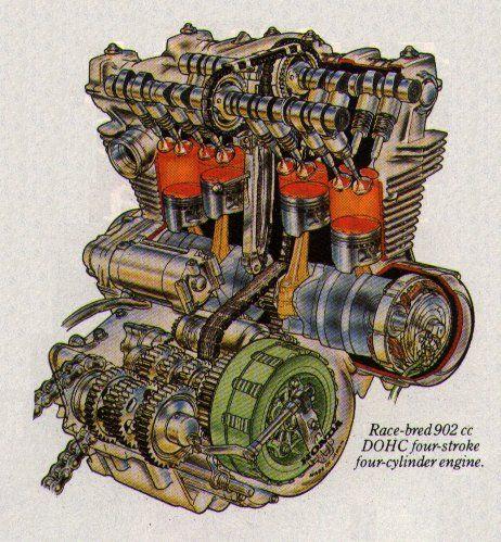 Honda Bol Dual Overhead Cam Motori