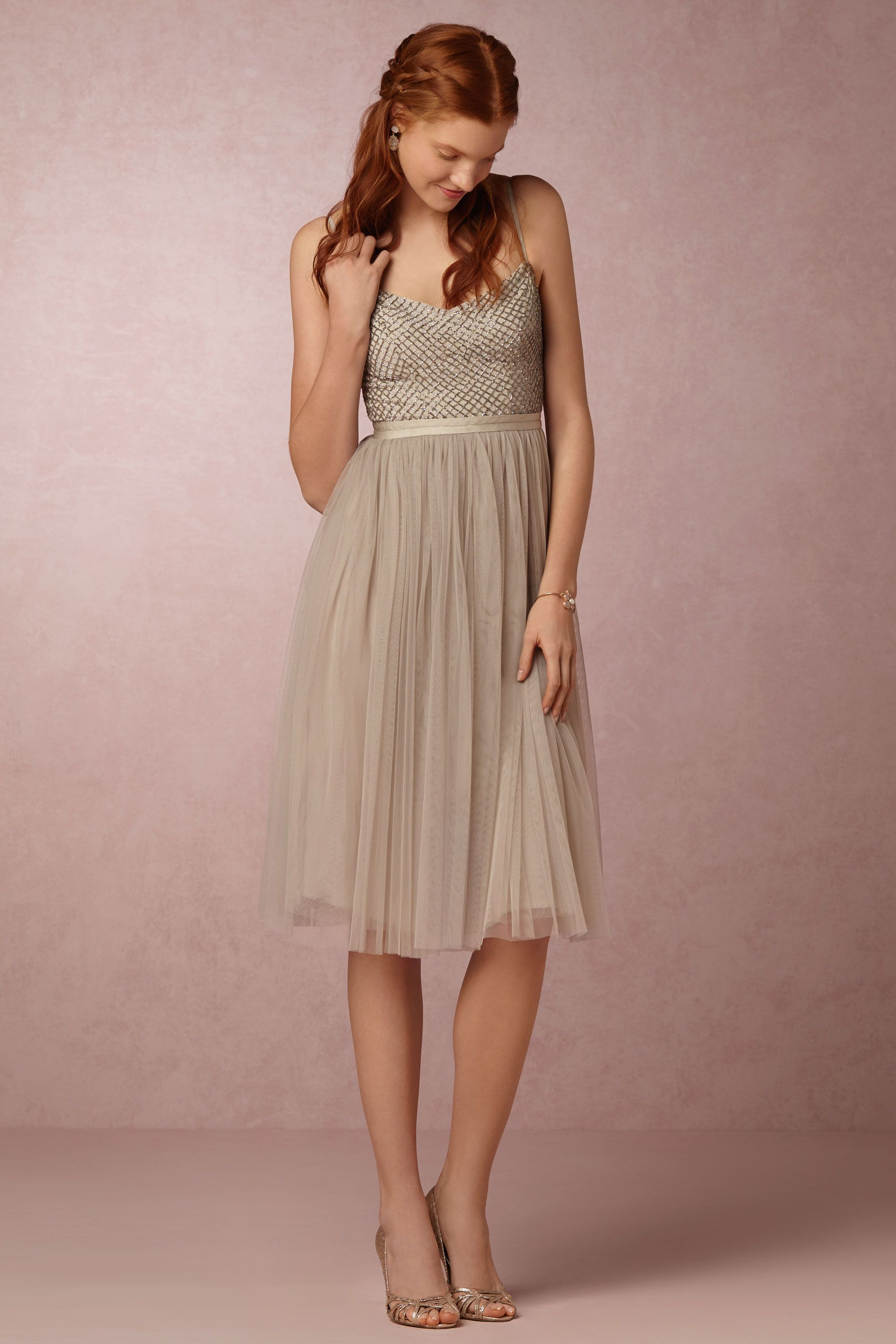 Coppelia Dress from @BHLDN - totes adorbs in Dusty Pink