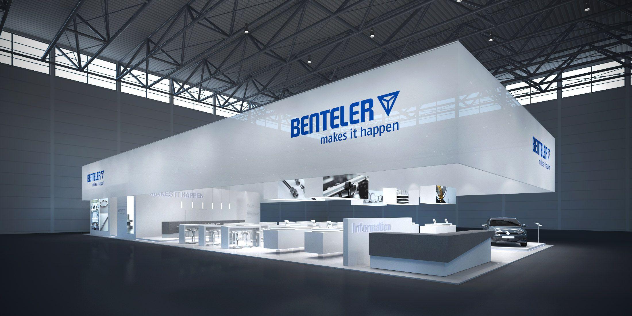 BENTELER Steel/Tube GmbH Konzeptentwurf zur wire & tube, Düsseldorf ...