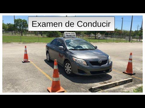 Examenes licencia de conduccion