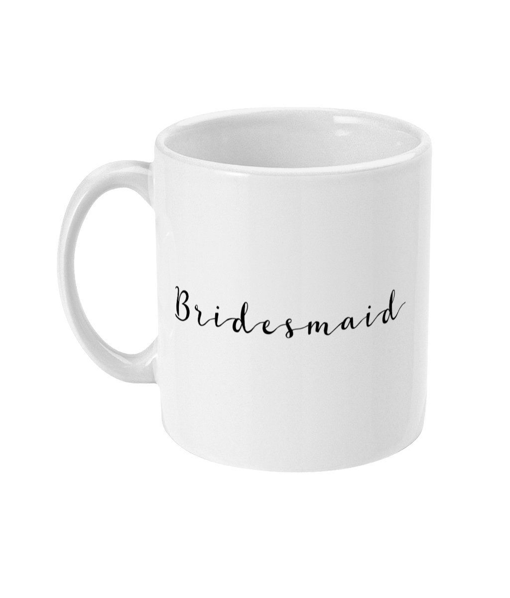 Bridesmaid Proposal, Bridesmaid Gift, Bridesmaid Mug, Will