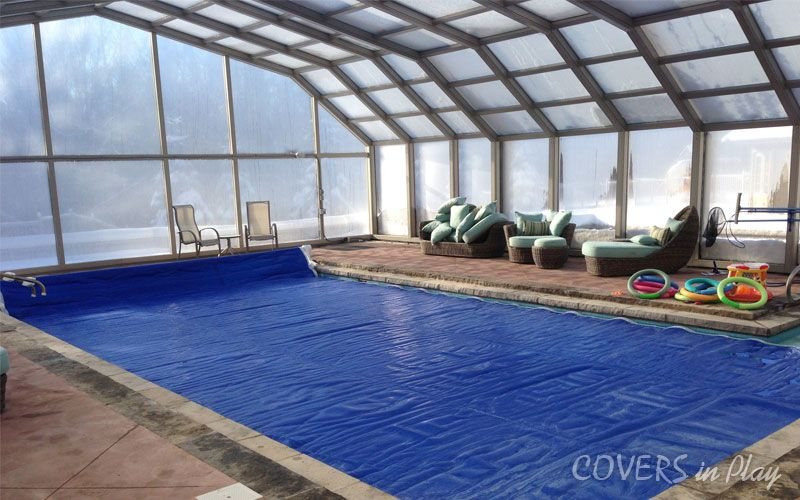 Pool Cover Pool Enclosure The Enclosure Was Designed With Transparent Acrylic Side Wall Panel To P Retractable Pool Cover In Ground Pools Pool Enclosures