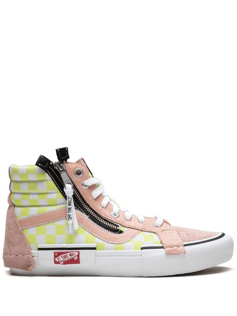 Vans zapatillas Sk8 Hi Rojo farfetch el rosa Sneakers