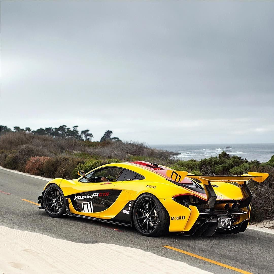 McLaren P1 GTR #exoticcarsandgirls (With Images)
