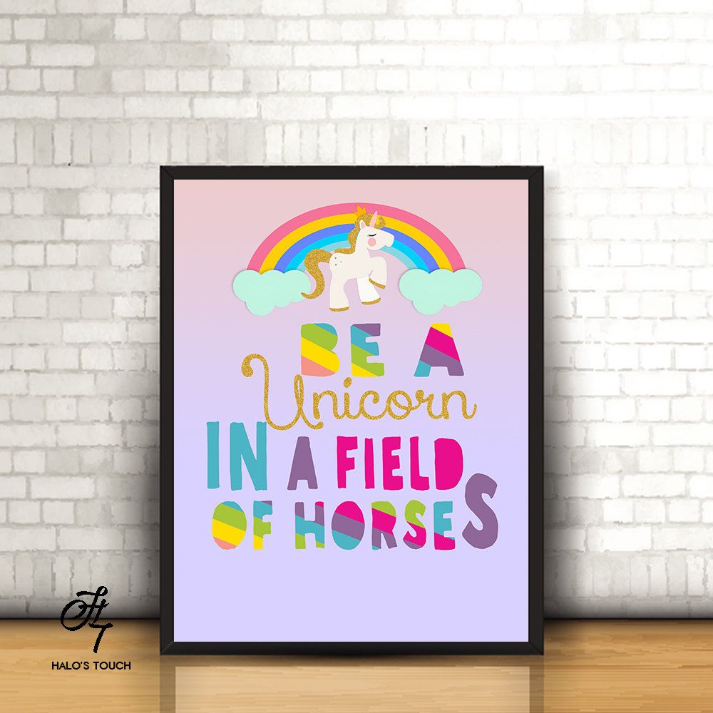 Be a Unicorn in a field of