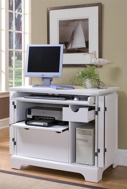 compact computer cabinet contemporary desks office in 2019 rh pinterest com