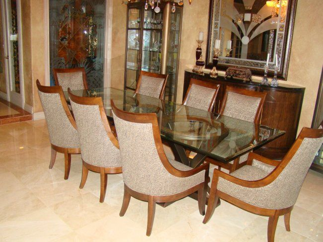 Transitional Decor  Transitional Style Bernhardt Dining Set  Lot Beauteous Bernhardt Dining Room Set Design Inspiration