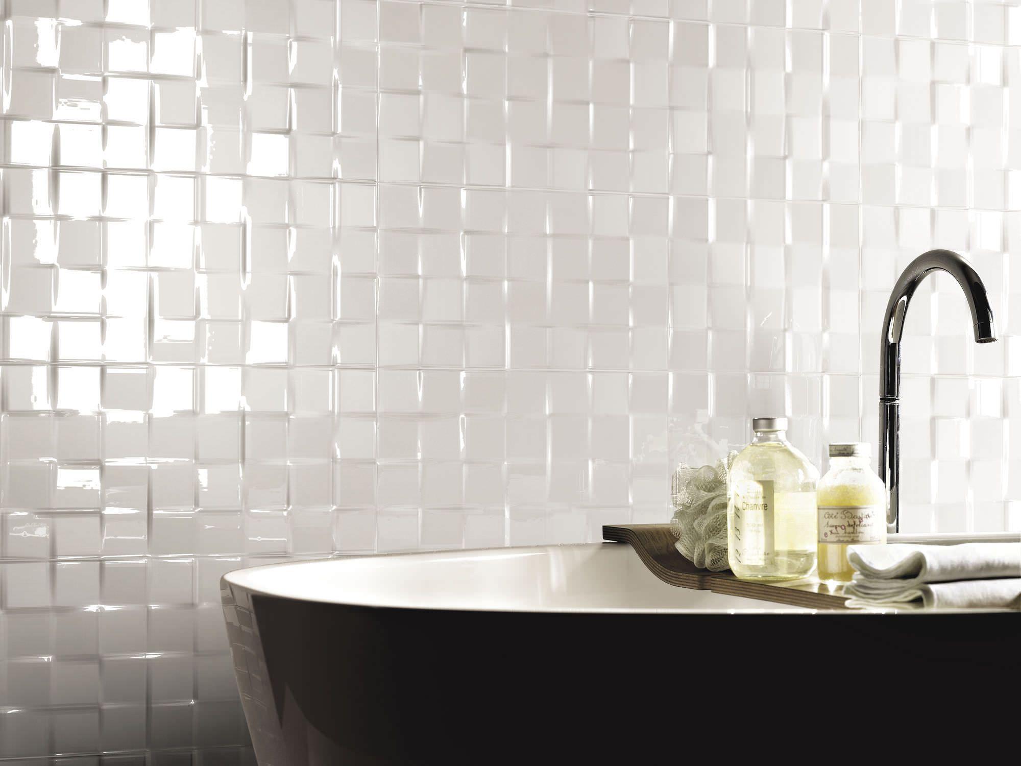 Credence En Gres Cerame kafle dekoracyjne łazienka   salle de bain, carrelage