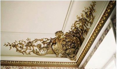 ديكورات قصور ملكيه Plaster Ceiling Design Gypsum Decoration Plaster Art