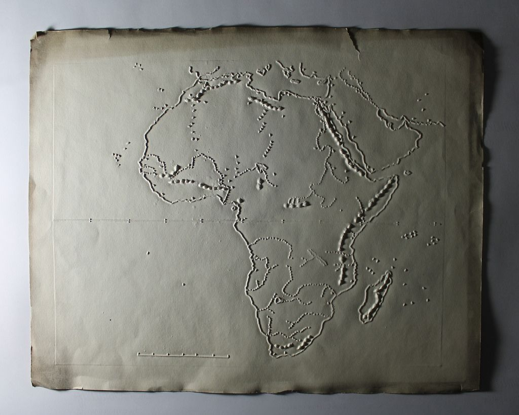 Africa Maps for the Blind by M