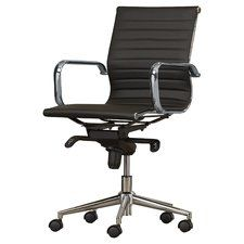 Perfect Found It At Wayfair   Cruz Mid Back Leather Desk Chair... But In White. Modern  Office Chairs