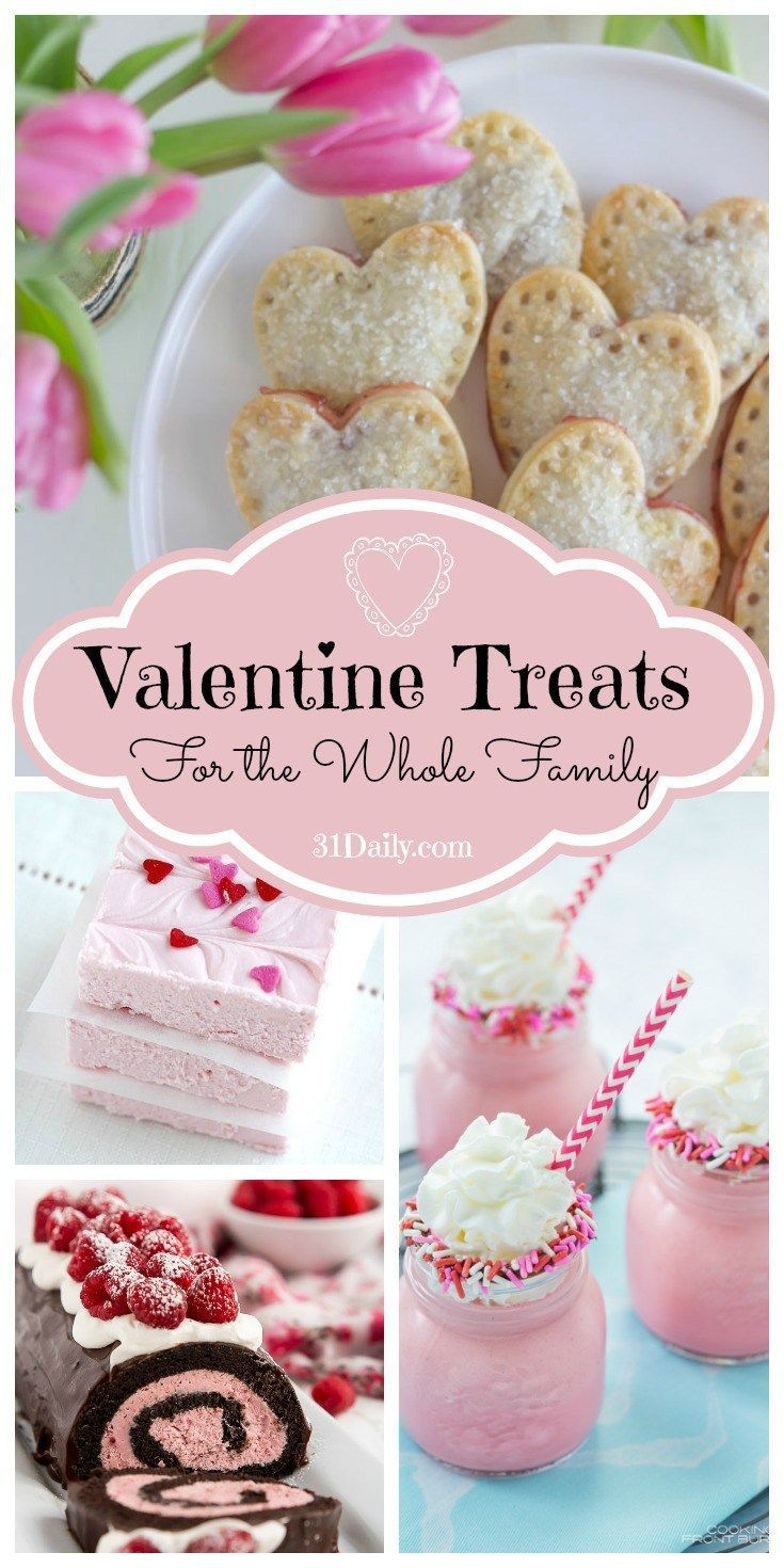 Fun Valentine's Day Desserts for the Whole Family - 31 Daily