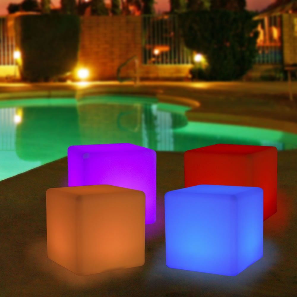 illumunated cubes 40cm glow indoor and outdoor year of clean water rh yearofcleanwater org