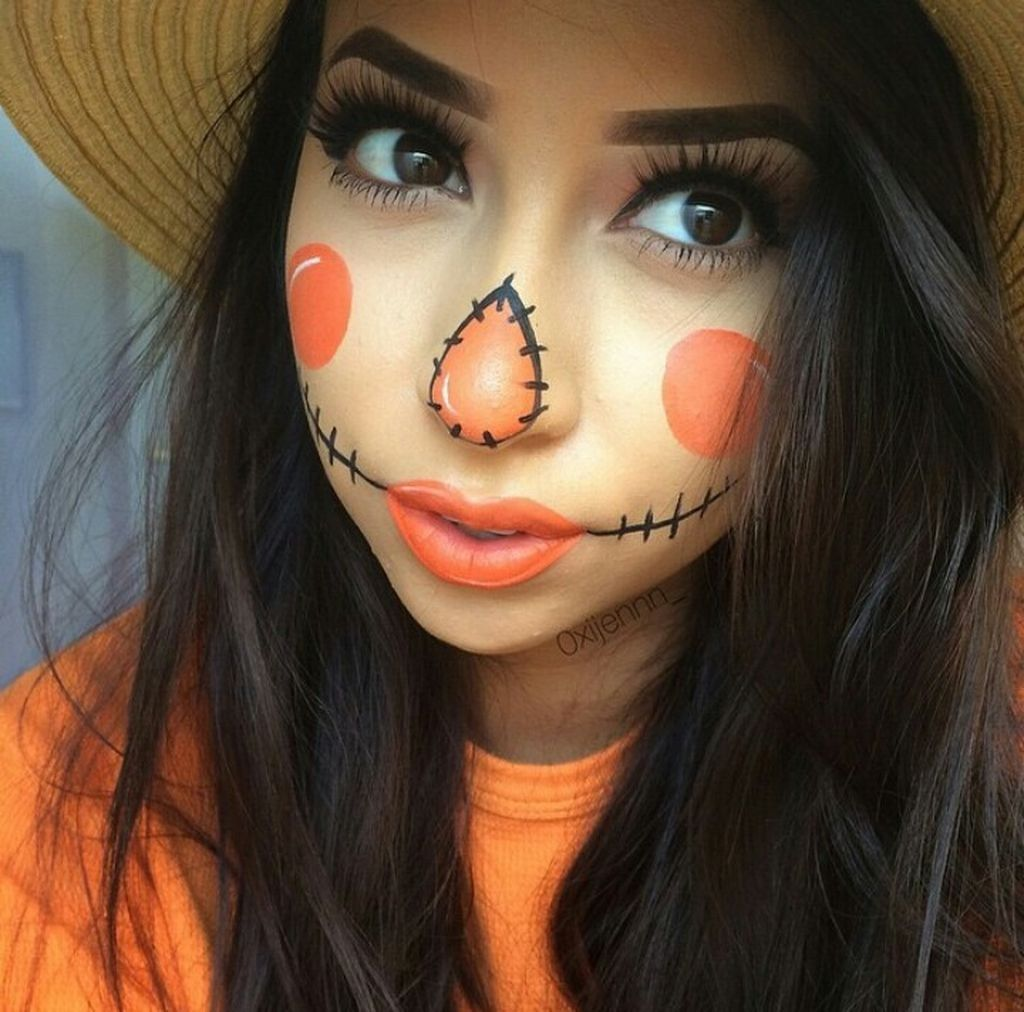 Inspiring halloween makeup ideas to makes you look creepy