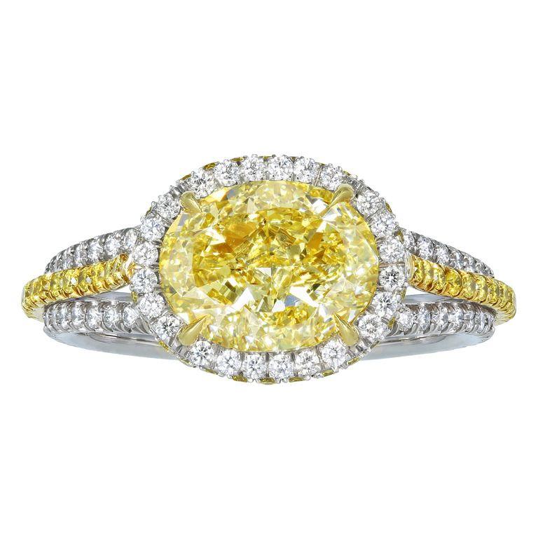 Shreve, Crump & Low 2.31 FY VS1 Diamond Engagement Ring $37,500
