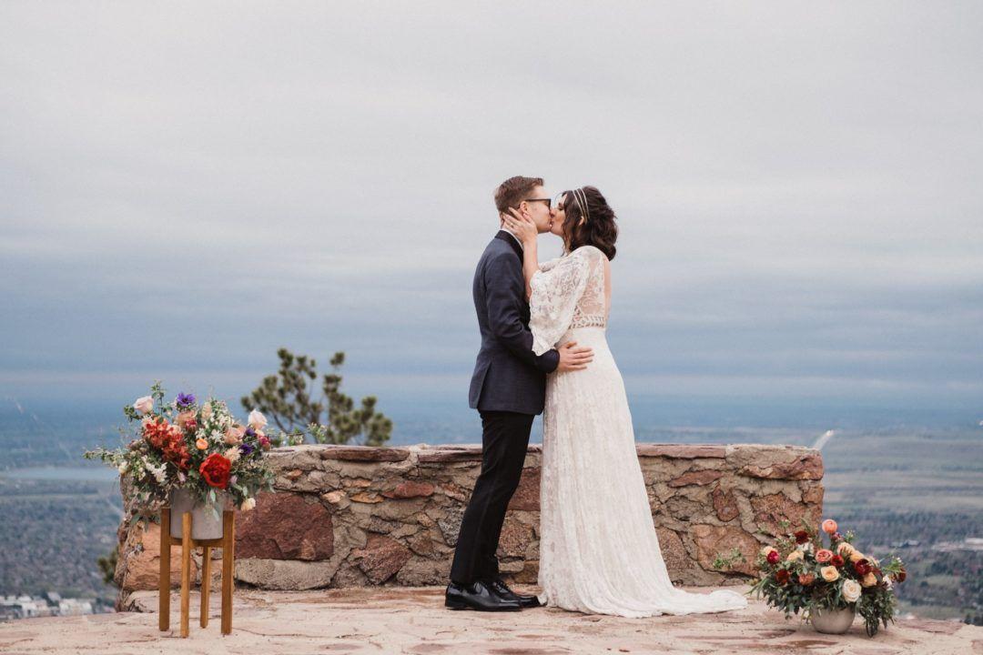 Styled Vow Renewal At Sunrise Amphitheater In Boulder Sunrise Wedding Adventure Wedding Photography Colorado Wedding Venues
