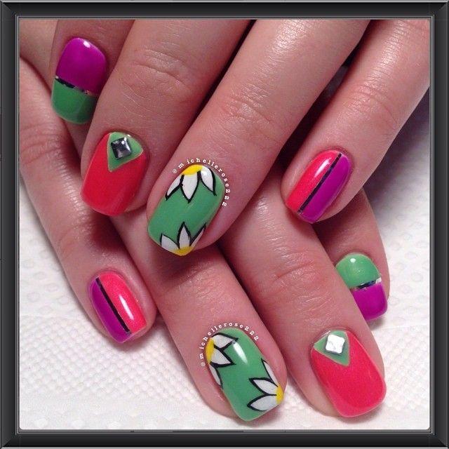 Instagram media by michellerose222 #nail #nails #nailart   Nail ...