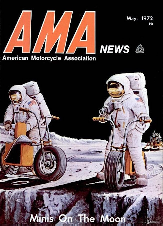 Moon Bikes Mini Bike American Motorcycles Retro Robot