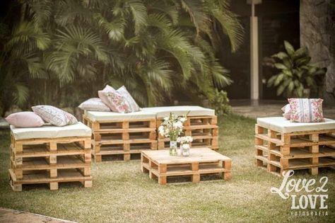 10 ideas para reciclar palets para bodas fiestas for Ideas para reciclar palets