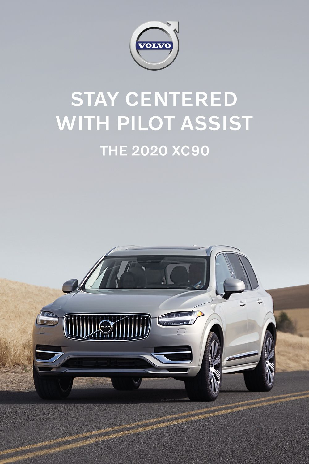 The New Volvo Xc90 With Pilot Assist Safety Recharged Volvo Xc90 Volvo Luxury Suv