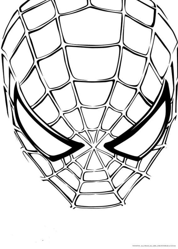 ausmalbilder spiderman ausmalbilder pinterest. Black Bedroom Furniture Sets. Home Design Ideas
