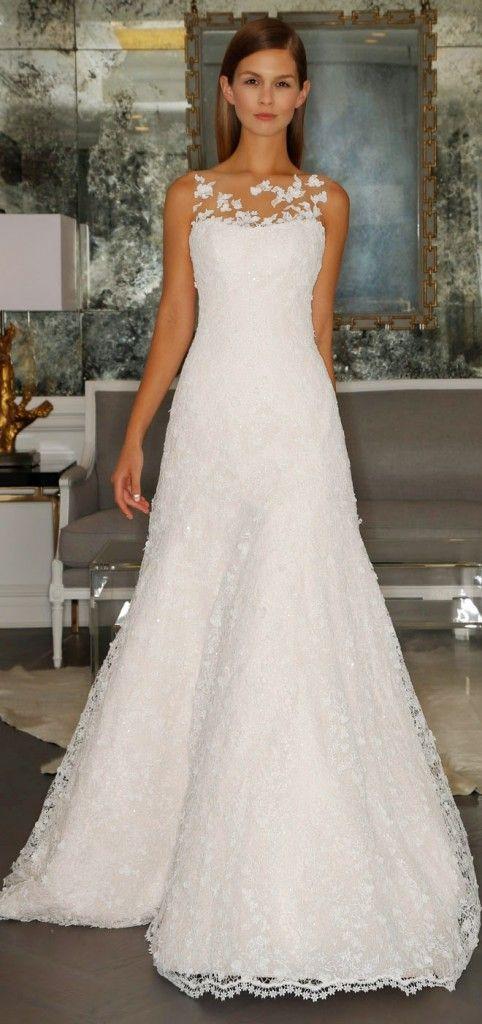 colección de lujo de vestidos de novia por romona keveza otoño 2015