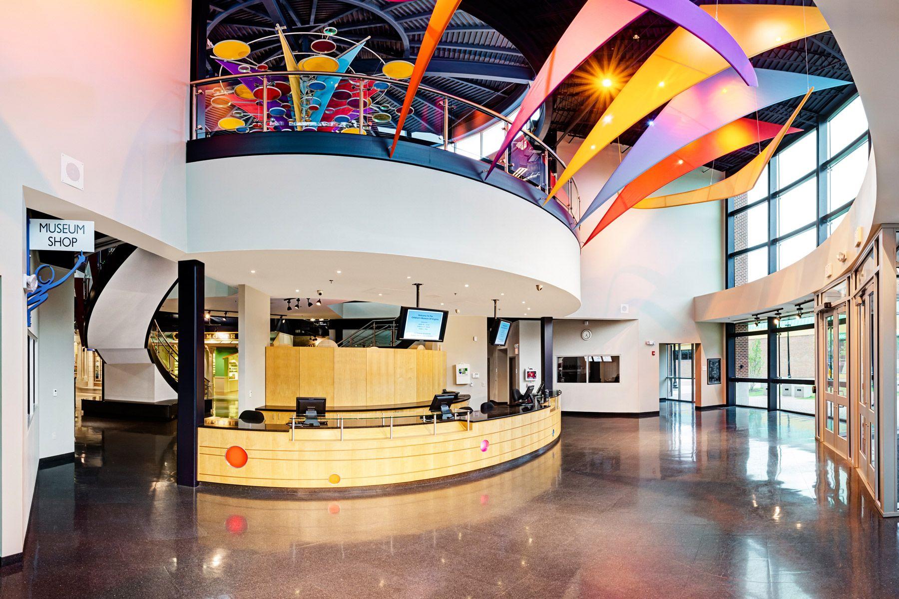 children 39 s museum of virginia hba architecture interior design