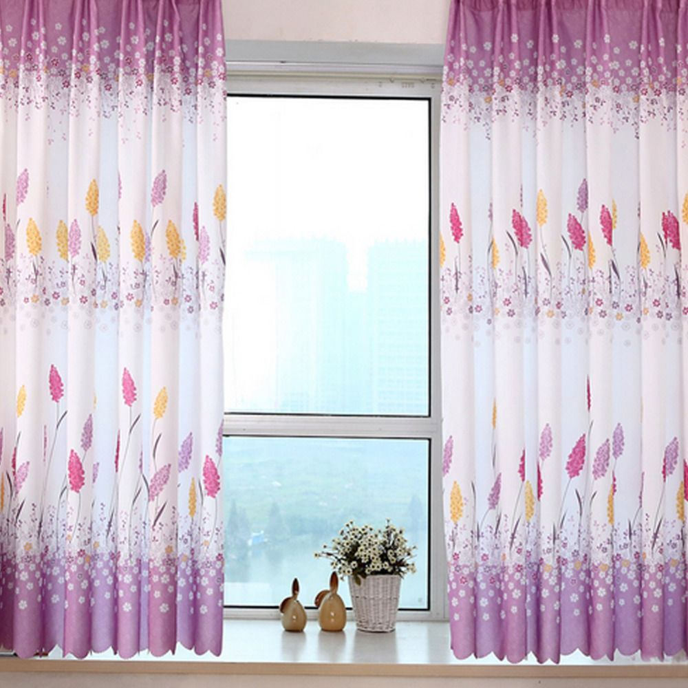 3 window bedroom curtains  new chinese beauty half blackout sheer window curtains for living