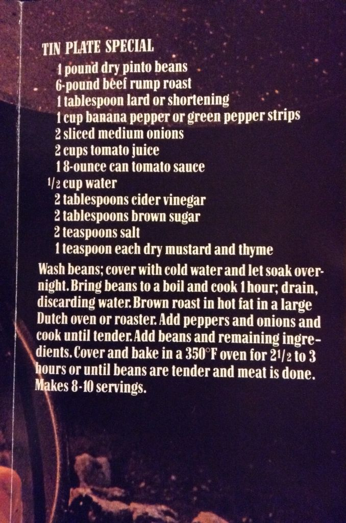 Marlboro Cookbook Tin Plate Special Recipe Cookbook Recipes Savoury Food Marlboro Chili Recipe