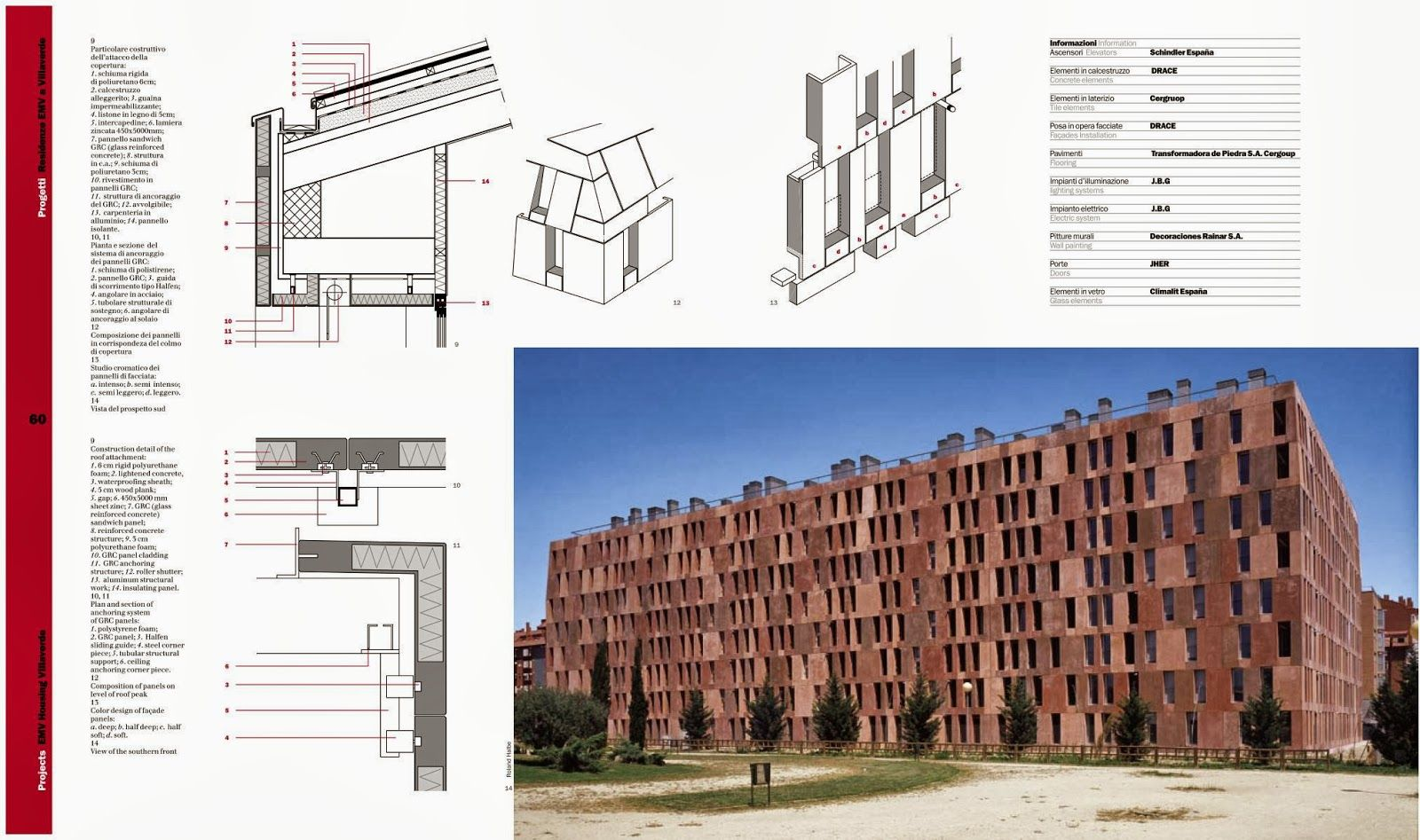 Architecture Library Emv Housing Villaverde Madrid Spain Madrid Architecture David Chipperfield Architects