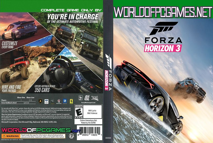 Forza Horizon 3 PC Game Download Free Beta | Projects to Try