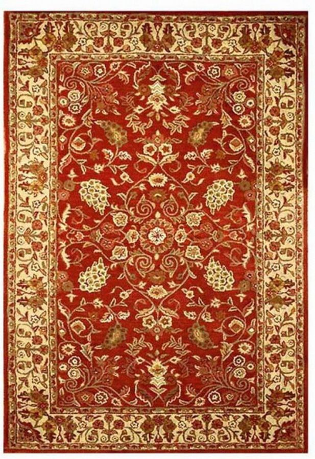 Aartios Red Gold Oriental Rug