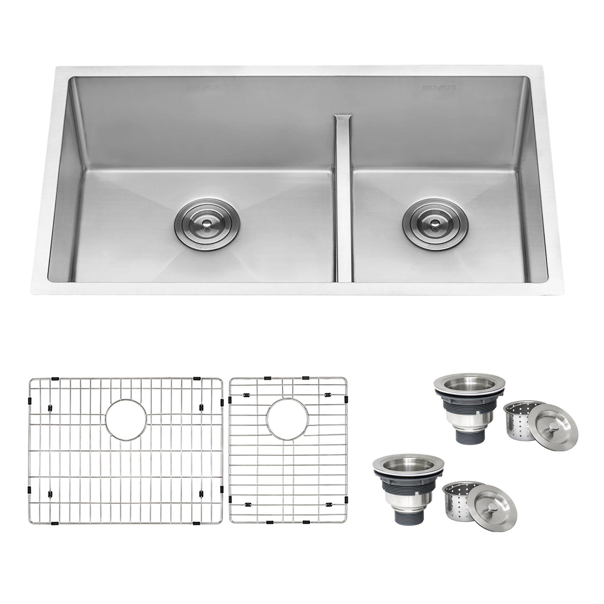 Blanco 441608 Diamond 1 75 Low Divide Undermount Kitchen Sink Reverse In Truffle Undermount Kitchen Sinks Kitchen Sink Sink