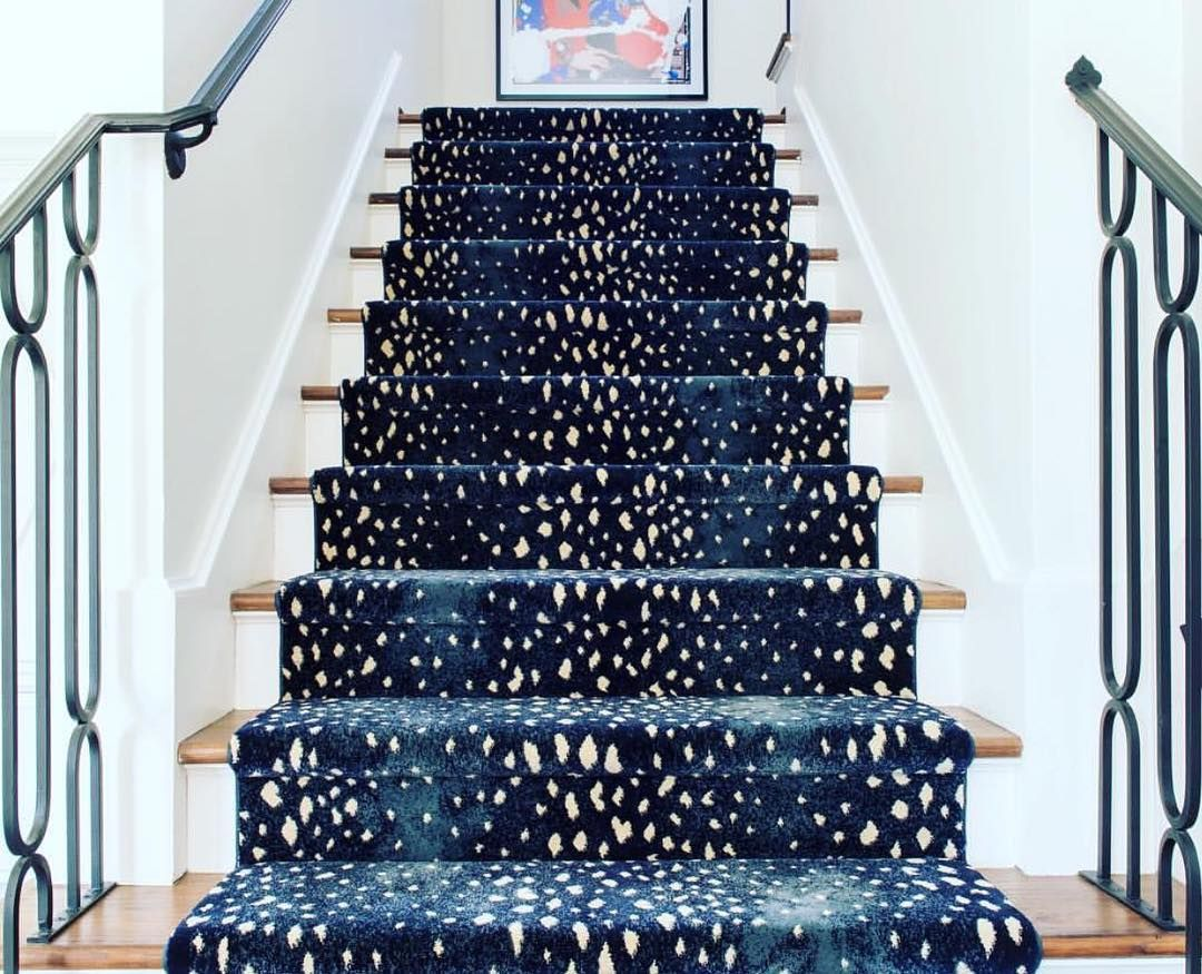 Perfect One Of My All Time FAV Stair Runners  This One By @starkcarpet +  @sallywheatinteriors. So In Love.... #stylediary #blueandwhiteforever