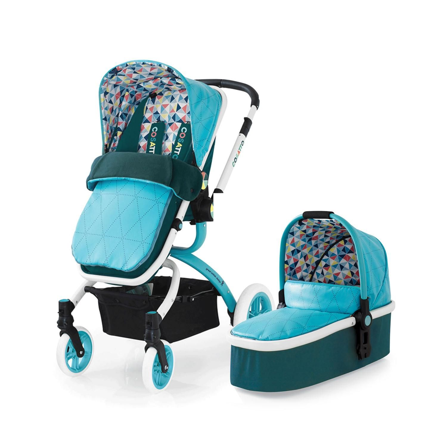Image result for turquoise green pram Travel system