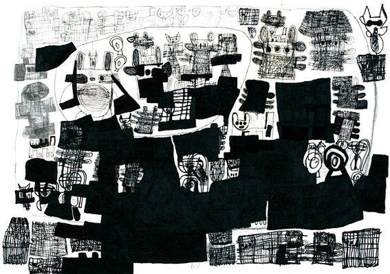 ARTWORKS - ART BRUT JAPONAIS - MAMI YOSHIKAWA(Atelier CORNERS)