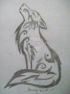Pin de Zaira Lpez en dibujos  Pinterest  Lobos Dibujo y Lpiz