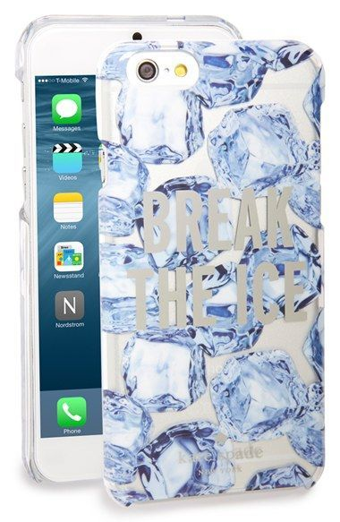 kate spade new york 'break the ice' iPhone 6 & 6s case available at #Nordstrom #katespadewallpaper kate spade new york 'break the ice' iPhone 6 & 6s case available at #Nordstrom #katespadewallpaper