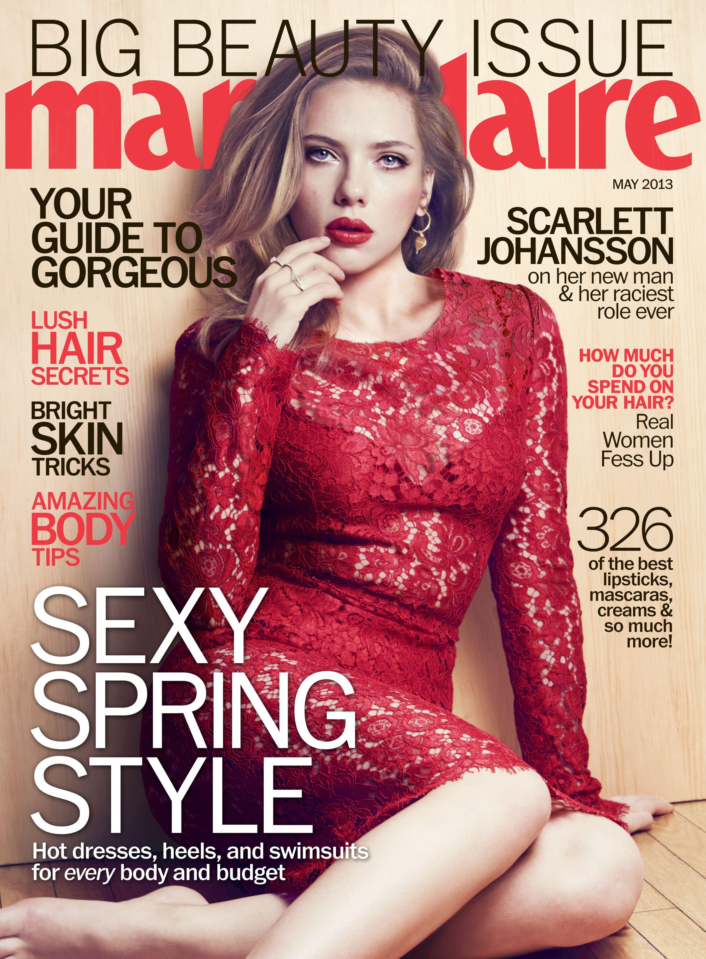 003de8e7ac Marie Claire Scarlett Johansson
