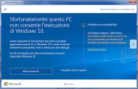 Windows 10 è un ottimo sistema operativo ma l'aggiornamento non sempre è possibile o opportuno, soprattutto se non ci sono i driver aggiornati e Microsoft sembra se ne sia finalmente accorta!