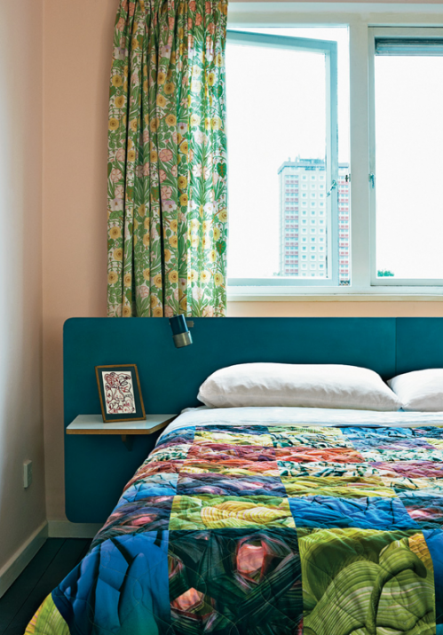 east london flat/ <3 patterns,colors, view!