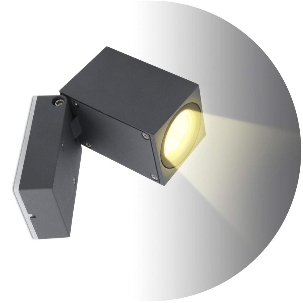 Topmo Plus 5w Banadores De Pared Para Interior Exterior Resistente Al Agua Ip65 Foco De Aluminio Sala De Estar Terraza Ja Focos Luces Interior Exterior