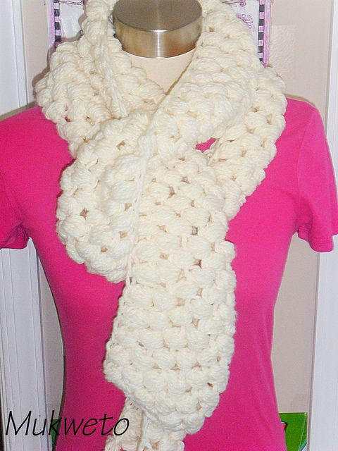 Scarf   CrochetHolic - HilariaFina   Pinterest   Chalinas tejidas ...