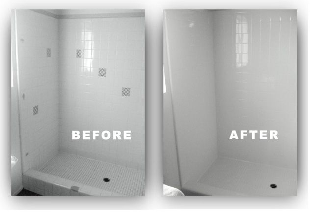 shower resurface before after | hops leaf worn damaged or maybe ...