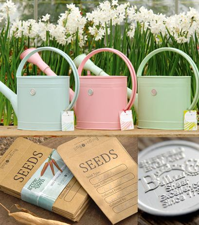 Pastel Watering Cans