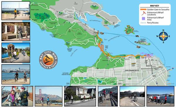map, biking to Sausalito | California trip | San francisco ... on marina district map, sonoma county map, riverbank map, bay area map, emeryville marina map, san tomas map, jiangmen city map, downieville map, port costa map, san francisco map, monterey harbor map, the presidio map, tiburon map, hacienda map, point richmond map, brooktrails map, serramonte map, golden gate national recreation area map, saddleback valley map,