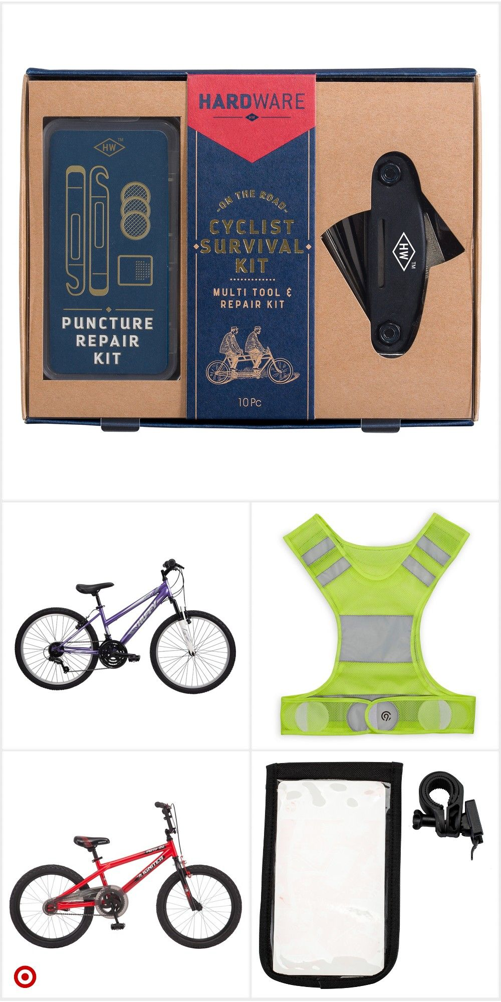 bicycle tire repair kit target