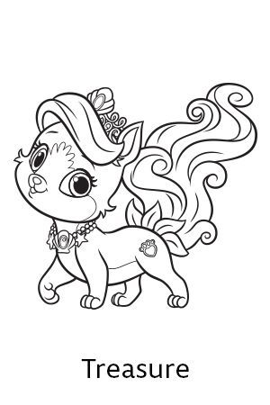 palace pets coloring pages 01 | coloring | Pinterest | Palace pets ...