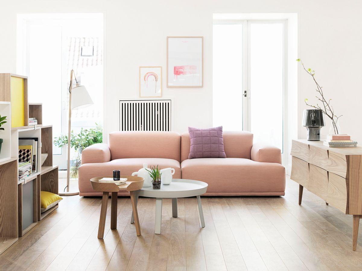Pastel gekleurde bank woonnieuws pinterest interieur