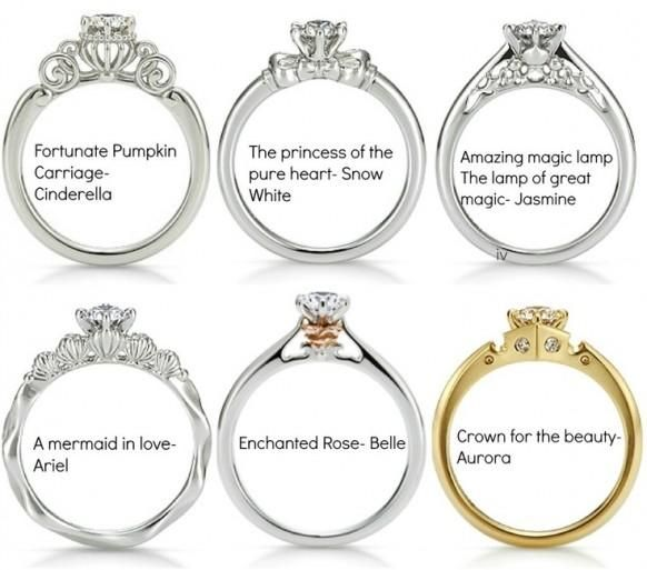 Disney princess wedding ring Ill take the enchanted rose please